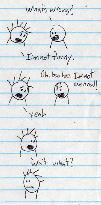 funny is something different to everyone. to me it is just okay.